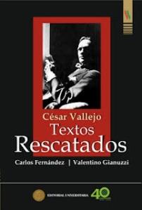 César Vallejo. Textos rescatados.