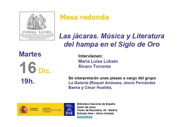 Presentación Las Jácaras. Lunes