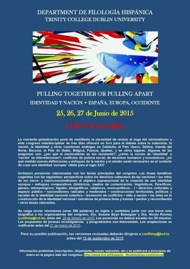 Call for papers SPN