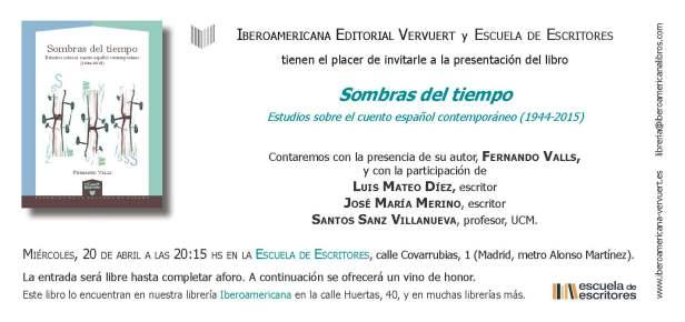 Invitacion Fernando Valls