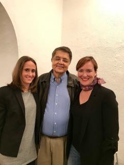 Con Sergio Ramírez